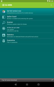 Dr.Web Anti-virus Light (free) screenshot 10
