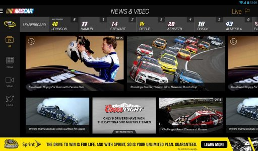 NASCAR MOBILE screenshot 8