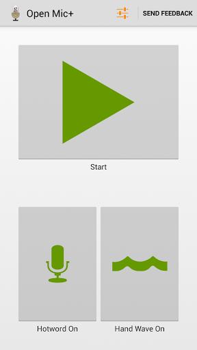 Open Mic+ for Google Now Screenshot