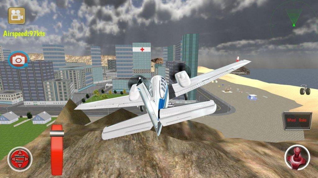 飞机3d飞行模拟器截图3