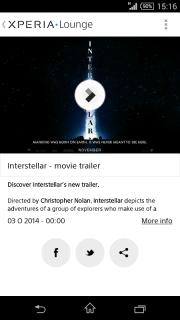 Xperia™ LOUNGE screenshot 6