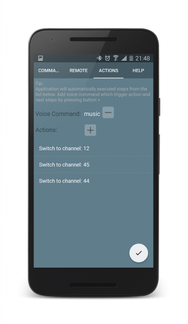 samsung tv remote control application on mobile