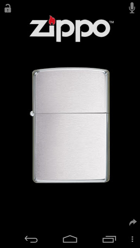 Virtual Zippo® Lighter Screenshot