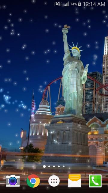 美国夜景动态壁纸