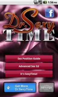 Dr SexyTime Advanced Sex Guide screenshot 1