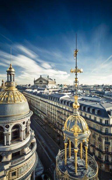 巴黎手机拍的风景图片
