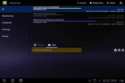 tTorrent Pro Screenshot