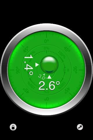 Clinometer Screenshot