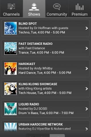 DI Radio screenshot 1