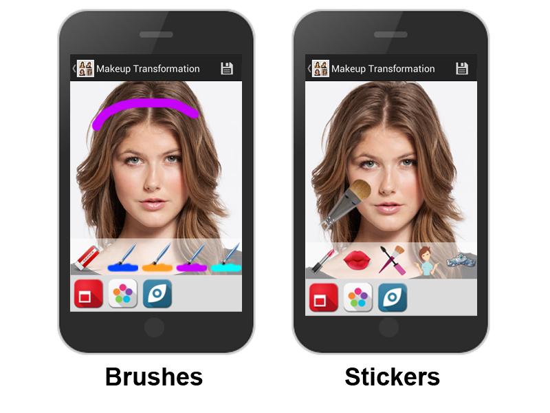 Makeup photo app