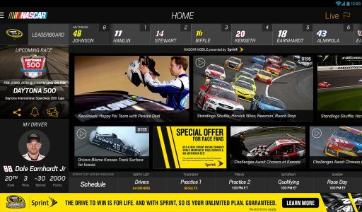 NASCAR MOBILE screenshot 6