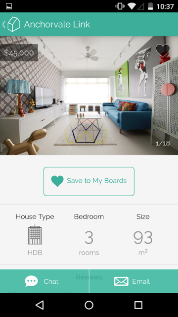 Qanvast download apk for android aptoide Interior design ideas app