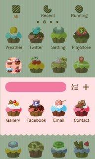 Cupcakes - GO Launcher Theme screenshot 3