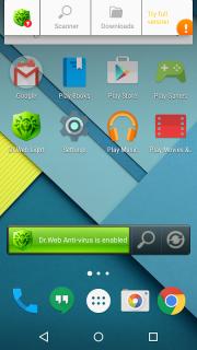 Dr.Web Anti-virus Light (free) screenshot 19
