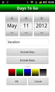 Days To Go (Free) screenshot 2