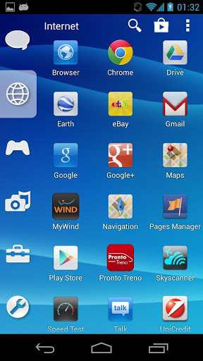 Smart Launcher Theme PSP/PS3 Screenshot