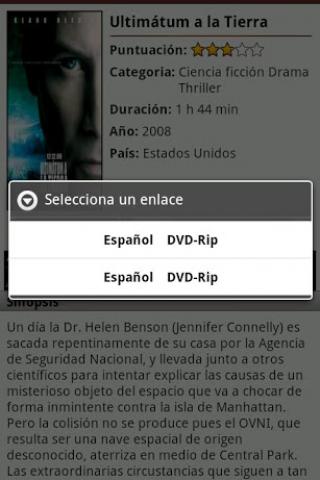 Películas gratis Pelistube Screenshot