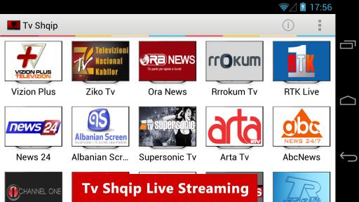 Tv Shqip Live - Albanian Tv screenshot 2