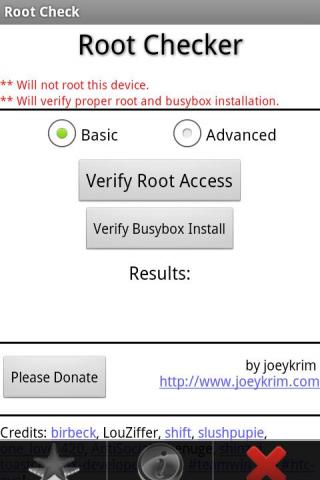 Root Checker Screenshot