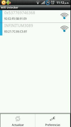 Wifi Unlocker Screenshot