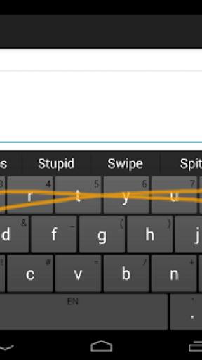 Swype Keyboard Trial screenshot 1