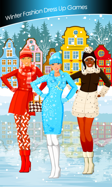 Winter fashion dress up games download apk for android aptoide