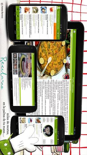 Recetario, recetas de cocina screenshot 1