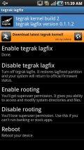 Tegrak Kernel Screenshot