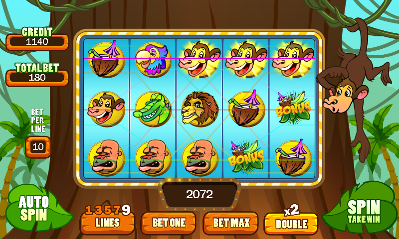 Play Banana Monkey Slots Online at Casino.com Canada