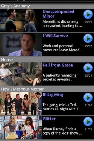 DroidTV Primetime screenshot 2