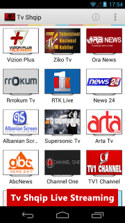 Tv Shqip Live - Albanian Tv screenshot 1