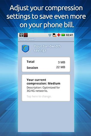Hotspot Shield VPN screenshot 4