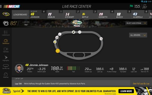 NASCAR MOBILE screenshot 5