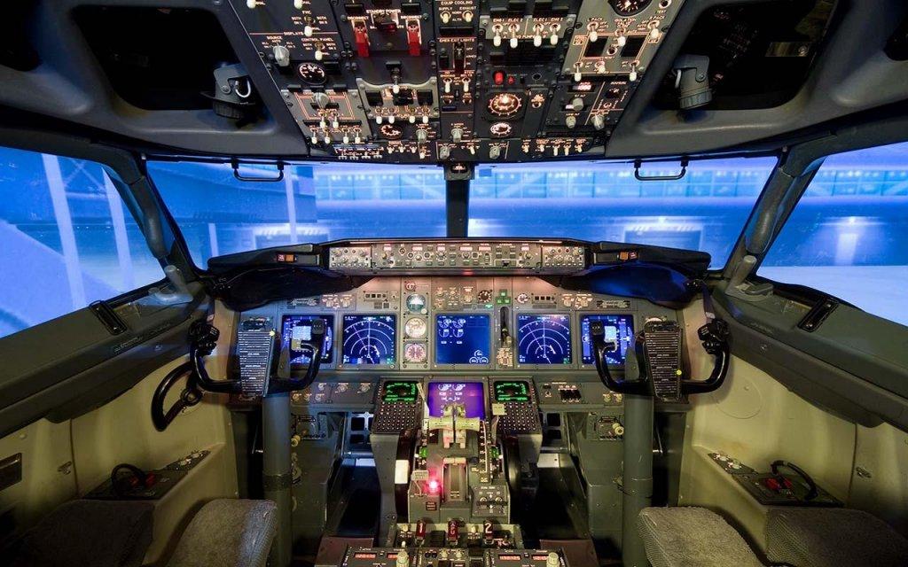 3d飞机模拟器屏幕截图