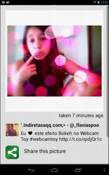 скачать Webcam Toy на андроид - фото 4