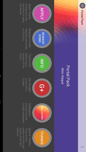 Portal Pack: Nova Apex ADW Screenshot