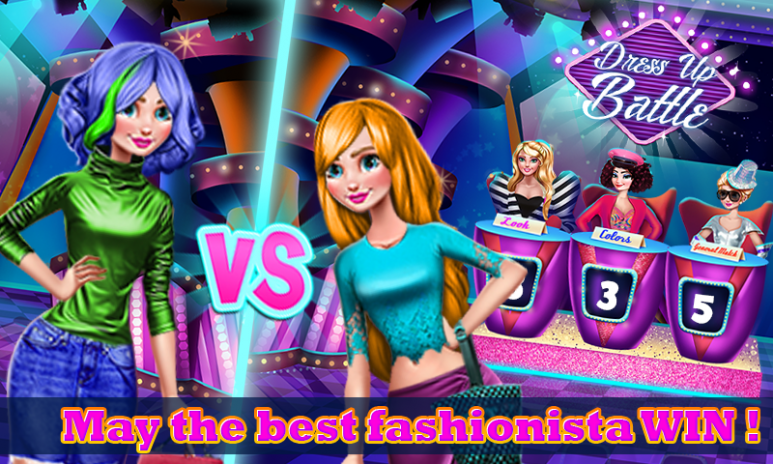 Dress Up Battle Fashion Game Screenshot 2