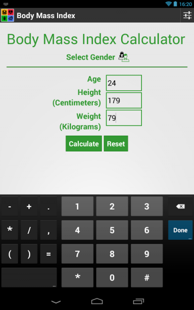 Body Mass Index | Download APK for Android - Aptoide