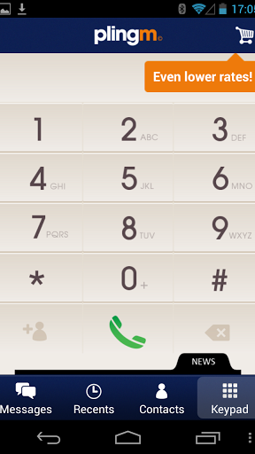 Plingm – Free & Cheap Calls screenshot 1
