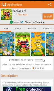 Aptoide screenshot 12
