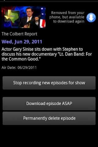 DroidTV Primetime screenshot 4