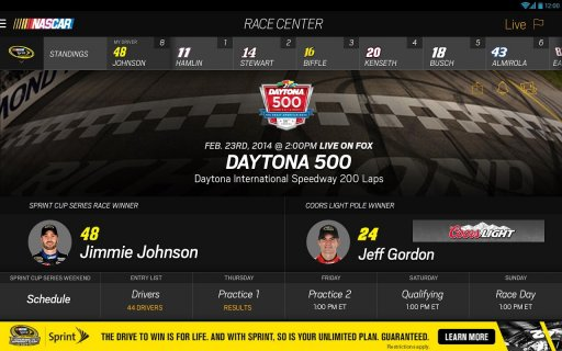 NASCAR MOBILE screenshot 4