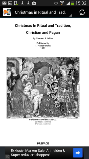 christmas rituals Christmas in ritual and tradition, by clement a miles [1912], full text etext at sacred-textscom.
