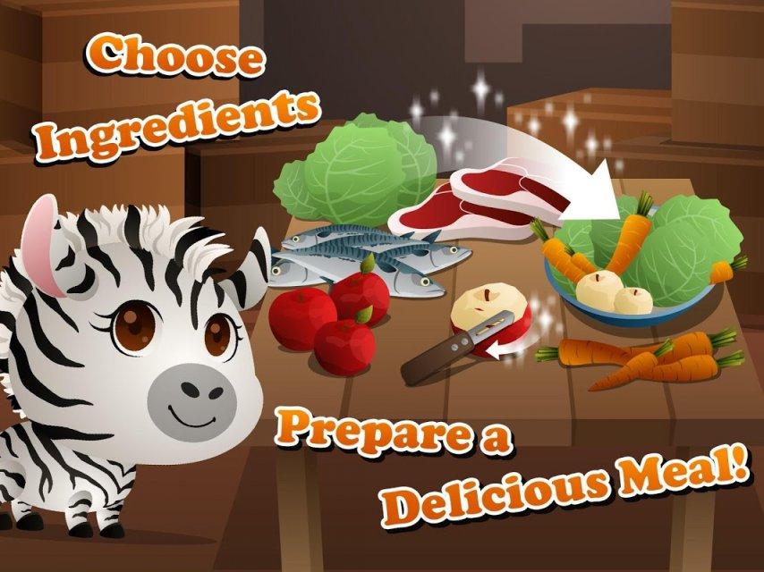 去皮胡萝卜和苹果,混合白菜做出美味一顿斑马