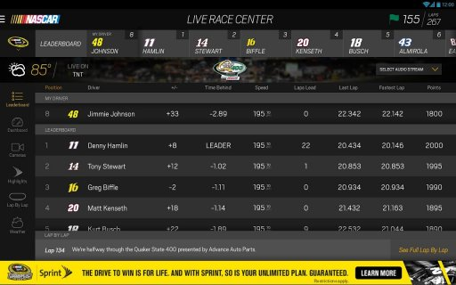 NASCAR MOBILE screenshot 3