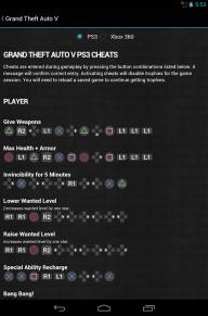GTA Cheats - for all GTA games screenshot 5