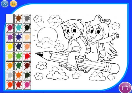 Игры раскраски раскрашивать онлайн бесплатно