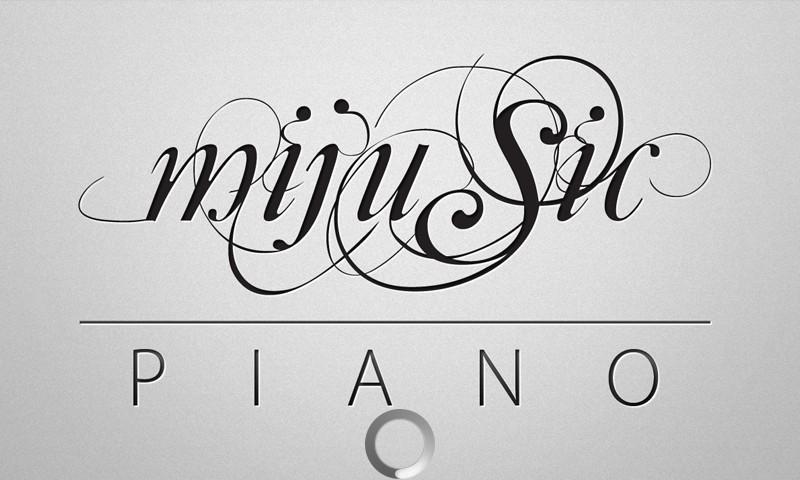 钢琴壁纸高清壁纸手绘