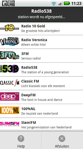 NLRadio Screenshot
