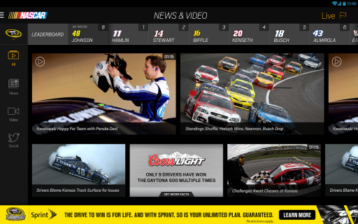 NASCAR MOBILE screenshot 2